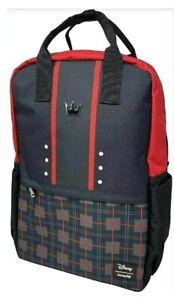 Official Loungefly Kingdom Hearts Sora Laptop School Bag Backpack.