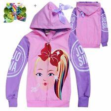 Jojo siwa children's clothing jacket girls zipper cardigan XMAS GIFTS Sizes 4-12