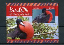 Tuvalu 2015 MNH Birds of South Pacific 1v S/S Great Frigatebird