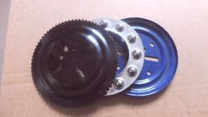MECCANO Black/Silver/Blue Ball Thrust Bearing No 168