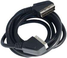 Ross Standard 21 PIN DIGITALE DVD/VCR ALLA TV 3 Metre SCART CAVO CAVO - Nero