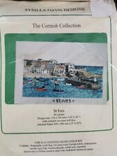 "Cross Stitch Kit Sybilla Davis Designs: ""The Cornish Collection "" - St Ives"
