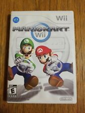Mariokart Wii (Nintendo Wii, 2008) Video Game with Manual...