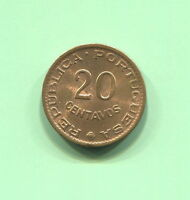 MOZAMBIQUE - BEAUTIFUL 20 CENTAVOS, 1961