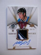 07/08,UD THE CUP SIGNATURE AUTO PATCHES PAUL STASTNY, CARD SP-ST, 58/75,M/NM