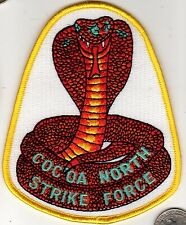 US Air Force ? DESERT STORM Military CoCoa North Strike Force Patch Cobra Snake