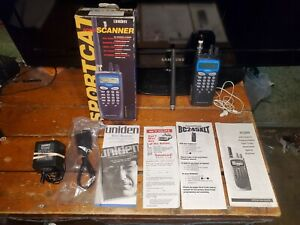 Uniden Sportcat SC200 Racing Scanner Police Fire EMS With Box