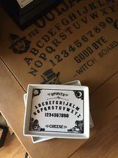 Set Of 2 Magenta Individual Cheese Plates Ouija Board Spirits Halloween Witch