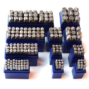 BGS Einschlagbuchstaben Schlagbuchstaben Einschlagzahlen Schlagzahlen 2-12 mm