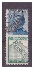 REGNO 1924 - PUBBLICITARI  Reinach  25  Cent. USATO