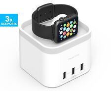 mbeat Apple Watch Power Time Charger Charging Dock Station 3 USB Port