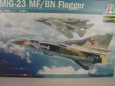 MiG-23 MF/BN Flogger - Italeri Flugzeug Bausatz 1:48  -  2798   #E