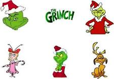 Waterslide Nail Decals - Set of 20 Holiday Christmas Grinch Assorted