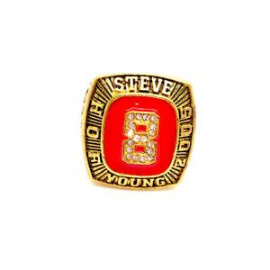 Steve Young  #8 American Football Quarterback & Former Championship Ring