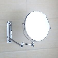 Bathroom Wall Mount Foldable Extendable 1x 3x Magnifying Makeup Mirror