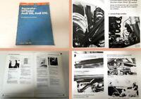 Werkstatthandbuch Audi 100, 200 C2 Typ 43 Instandhaltung Wartung Stand 1981