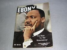 Ebony Magazine May 1968 Martin Luther King Jr. Civil Rights Jimi Hendrix Nauru