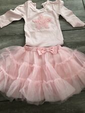 Baby Girls Pink Tutu Set Up To 6 Months