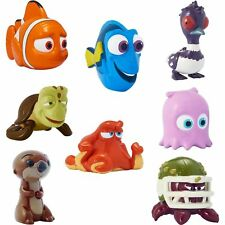 FINDING DORY COLLECTABLE FIGURES SERIES 1 SET OF ALL 8 BAGGED NEW AND SEALED