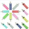 Cotton Wave Wristlet Lip Balm Key Ring Lipstick Key Chain Holder Portable