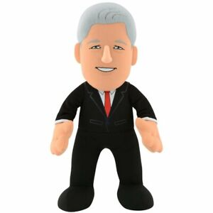 """Historical Figures: Bill Clinton 10"""" Plush Figure - POTUS for Play or Display"""