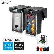 DMYON PG445 CL446 XL Cartouche D'encre Rechargeable Compatible pour Canon PG445