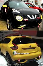 Nissan Juke 2014 cover phares +cadres pare-chocs anter+affiches+miroirs JAUNE
