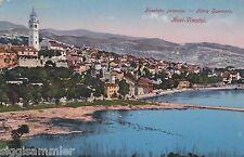 Novi Vinodolski AK 1911 Panorama Adria Kroatien 1606510