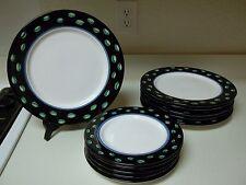 Grazia Deruta Italian Pottery Susan Eslick 6 Dinner Plates & 5 Salad Plates RARE