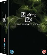 BREAKING BAD COMPLETE SERIES SEASONS 1,2,3,4,5,6 BOXSET 21 DISCS R2 1-6