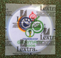 PATCH FIFA WORLD CUP 2006 LEXTRA OFFICIAL BADGE GERMANY 2006