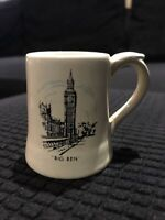 "Vintage ""Big Ben"" Miniature Mug / Tankard By Wade Souvenirs Of London"