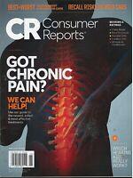 CONSUMER REPORTS MAGAZINE JUNE 2019 - GOT CHRONIC PAIN?  WE CAN HELP! *NEW*