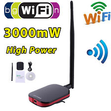 High Power Long Range 150Mbps N9000 RT3070 USB Wireless Adapter Network Antenna
