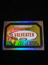 2006 TOPPS WACKY PACKAGES ANS4 RAINBOW FOIL STICKER F9 VALVEATER