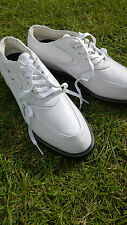 BRAND NEW LADIES OAKLEY 7.0 WHITE SOFT LEATHER SPIKED GOLF SHOES SIZE UK 4.5