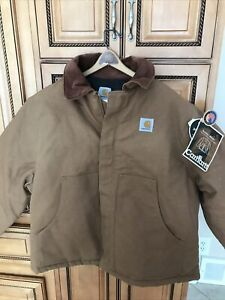 Carhartt Arctic Traditional Coat Jacket 50 QUILT LINED Winter New *Small Defects