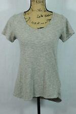 LuLaRoe Classic Tee Size XXS Pinstripe Pattern Cap Sleeve Cotton Blend A-line