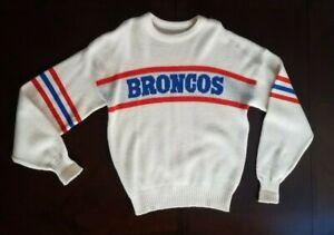 Vintage Cliff Engle Ltd. NFL Denver Broncos Wool Blend Sweater