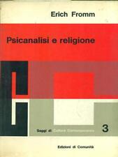 PSICANALISI E RELIGIONE  ERICH FROMM EDIZIONI DI COMUNITA' 1961