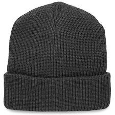 Commando Militare dell'Esercito Escursionismo Acrilico Inverno Caldo Cappello Beanie Watch Cappello Nero Nuovo