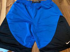 Euc Nike Mens size Xl Basketball Shorts Blue/Black with Pockets