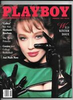 Back Issue February 1987 Playboy Magazine ~ Joanne Russell Cover ~ EXcellent