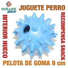 JUGUETE PERRO PELOTA GOMA RECOMPENSA SNACK INTERIOR ANTI-OBESIDAD 9 cm L151 2055