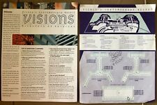 Disney Contemporary Resort 2000 Property Room Map & Visions Director Services