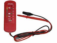 12V voltios led coche furgoneta Auto Probador de Alternador de batería para todos los vehículos CT3387