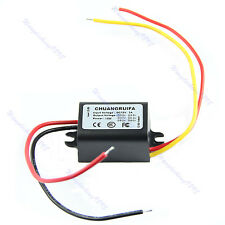 Waterproof DC-DC 12V to 3V 3A 15W Car Power Converter Adapter Step Down Supply