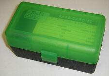 MTM Case Gard™ New MTM Plastic Ammo Box 50 Rd RL-50-16T Rifle 30-06 280 410 GRNB