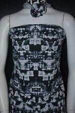 Cotton Jersey Lycra  Print  Knit Fabric Very Soft  9 oz Geometric Print