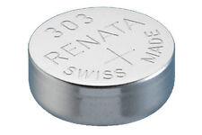 303 SR44SW  Renata Swiss Made Watch Batteries Silver Oxide